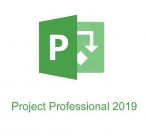 China 100% Genuine Microsoft Project Professional 2019 Life Time Download PC System on sale