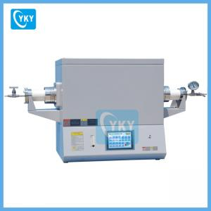 China Dual Zones Tube Furnace for Fluorescent Powder on sale