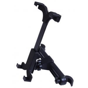 China Black 360 Rotating Tablet Car Mount Holder , Universal Tablet Holder For Car on sale