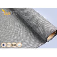 China 1.4mm Thermal Insulation Flame Retardant Fabric 700 C Degree Heat Protection on sale