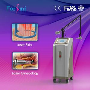 China portable fractional co2 glass laser tube machine on sale