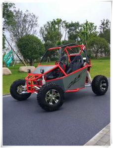 China Automatic CVT 300cc 21.46hp Electric Off Road Go Kart 60mile/H With Aluminum Rim supplier
