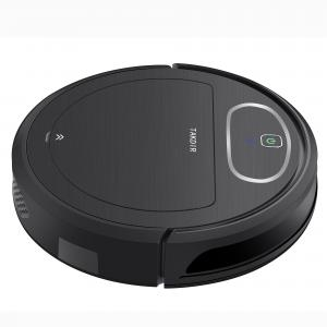 China Cordless Wet Dry Robot Vacuum Mop Combo , Robot Vacuum Cleaner With Mop on sale