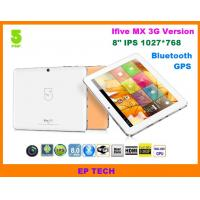 "8"" GPS tablet PC IFive MX IPS screen with build in 3G 1G/16G Bluetooth HDMI"