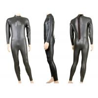 Smooth Skin Neoprene 3mm Long Sleeve Triathlon wetsuit, Scuba Diving Suits YKK Zipper