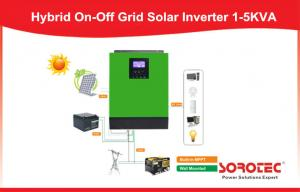 China Fridge Off Grid Solar Inverter with 50A Mppt Solar Charger , PWM Solar Controller on sale