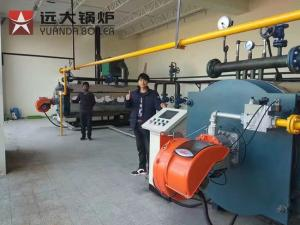 China YYQW Series 0.7MW-1.4MW Oil Gas Fired Thermal Oil Heater Boiler on sale