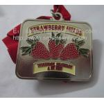 As medalhas vazias ocas do metal, bronze antigo personalizado ostentam medalhas e medalhões,