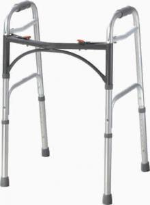 China Folding Medical Supplies Walkers Patient Rollator With Wheels For Adults Rehabilitation on sale