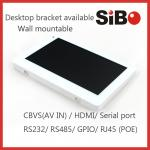 Wall Mountable Industrial Grade Android POE Tablet With LED Light