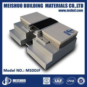 China Aluminum base rubber expansion joint filler for ceramic tile floor on sale