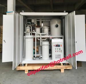 China Vacuum Hydraulic Oil Cleaning Machine, Oil Filtering Machine, Lube Oil Purification System breaking emulsification on sale