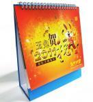 Милой небольшой подгонянное таблицей печатание календаря с серебряным горячим проштемпелеванным логотипом для объявлений