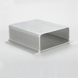 China Powder Coated Aluminium Enclosures Box Extruded Housing Milling Deep Process on sale