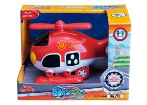 China Light And Sound Rescue Fire Truck Ambulance Baby Girl Toys Red Blue 8  Helicopter on sale
