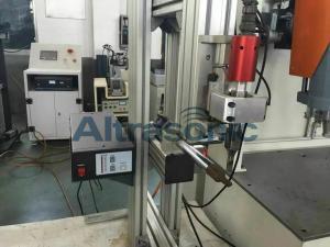 China 800 Watt High Power Ultrasonic Plastic Welding Machine for Car Warning Triangle on sale