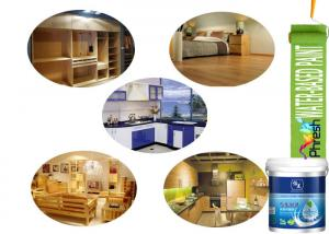 China Good Fullness Waterborne Wood Coatings Exterior Clear Coat For Wood Varnish on sale