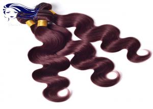 China Double Weft Colored Human Hair Extensions Colored Human Hair Weave on sale