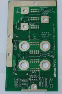 "China O.S.P ( Entek ) Al / FR4 PCB Board With 0.006""( 0.15mm ) Silkscreen on sale"