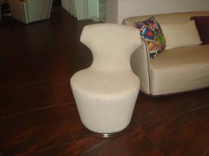 Quality Italian Modern Upholstered Chairs With High Resilience Rebound Sponge for sale