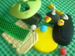 Los juguetes EVA de los niños