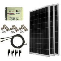 100 watt solar panel kit Solar Power Backup Generator For emergency electricity