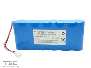 China Paquet IFR 26650 9.6V 6.6AH de la batterie LiFePO4 pour Porduction solaire et éclairage on sale