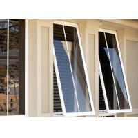 Heat Resistant Custom Aluminium Windows Aluminium Glass Awning Top Hung Window