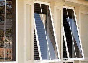 China Heat Resistant Custom Aluminium Windows Aluminium Glass Awning Top Hung Window on sale
