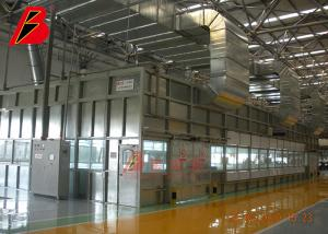 China Metel Structure Wall Paint Room for Customied Painting Production Line Project in Changchun FAW on sale