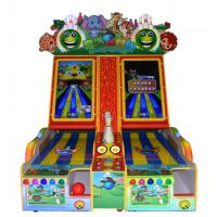 China Electronic Coin Operated Arcade Bowling Machine Indoor  L258 * W158 * 263 CM on sale
