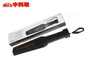 China Super Scanner Portable Metal Detector , Explosive Security Metal Detector Hand Wand on sale