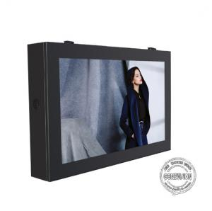 China Back Mounted Outdoor Digital Signage Display 32 Inch 4G Internet Lightning Protection on sale