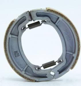 China Manufacture RS125 motorcycle brake shoe lining motor/truck/car,auto spare parts,drum parking AX100 TVS on sale