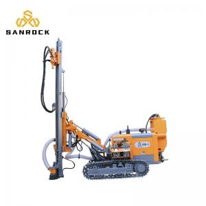 China Mining Separated Dth Surface Drilling Machine Stone Crusher  4500kg Weight on sale