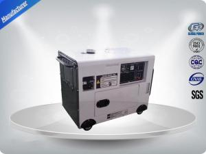 China Silent Type Portable Home Generators , Single Phase Diesel Generator 2.8 Kva on sale