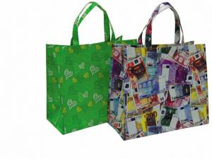 China recyclable Non Woven custom printed reusable shopping grocery bags on sale
