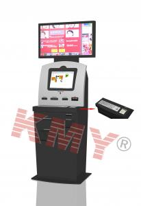 China Customized Functional Indoor Bill Payment Kiosk With LCD Signage Display on sale