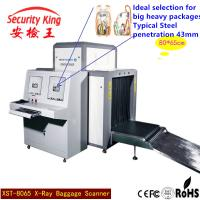 Sensitivity Airport Baggage Scanner Machine , Customs X Ray Machines For Baggage