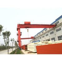 YT BMH model electric hoist single beam Semi gantry crane