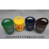 fashion colorful plastic ice bucket