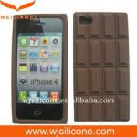 China Smart Design Silicone Phone Case for Iphone 4 wholesale