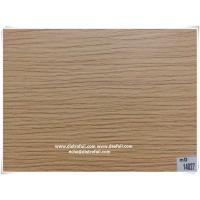 Wood grain heat transfer film for MDF door