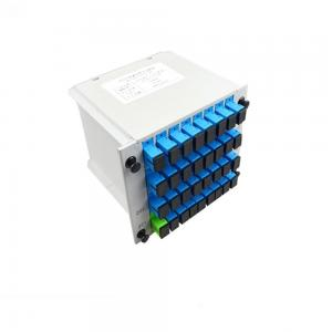 China Card Insertion Type 1x32 Plc Splitter , Passive Optical Splitter With SC Adapter on sale