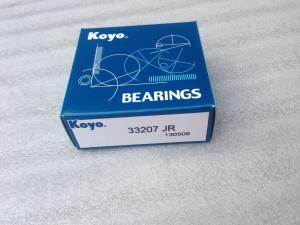 China KOYO 33207JR Single Row tapered roller bearing 35x72x28MM Made in Japan on sale