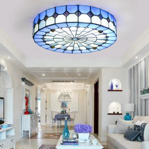 Tiffany Hanging Ceiling Lamps For Indoor Home Kitchen Dining Room