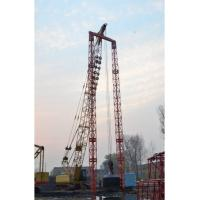 Low Ground Pressure Hydraulic Crawler Crane Dynamic Compaction For Drive