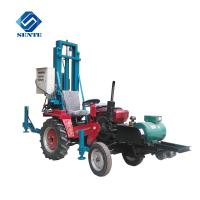 High Quality Trailer Mounted Water Well Drilling Rig/drilling rigs AKL-120T depth 120m
