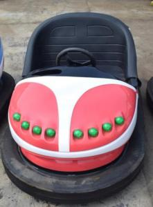 China Outdoor Kids Bumper Cars Glass Steel Material LED Lights For Theme Park on sale