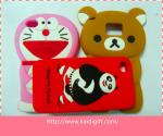 China Silicone Cell Phone Cases Flexible With Custom Logo wholesale